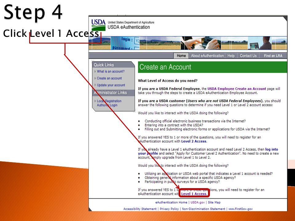 Click Level 1 Access