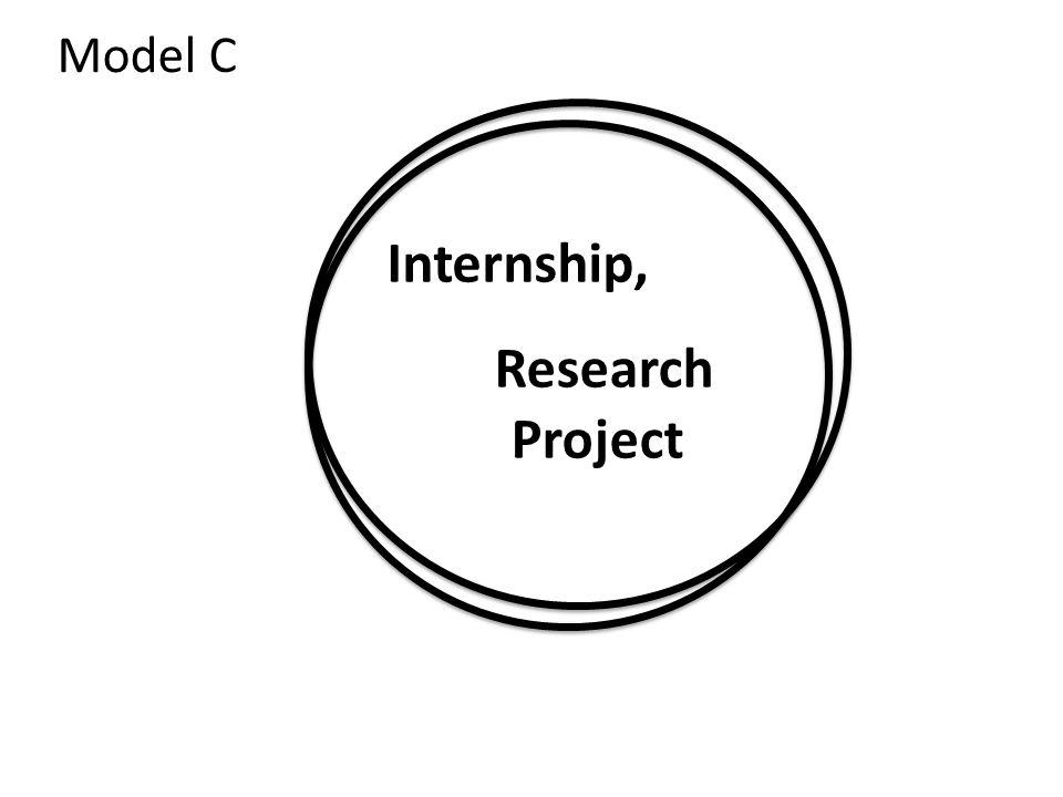 Internship, Research Project Model C