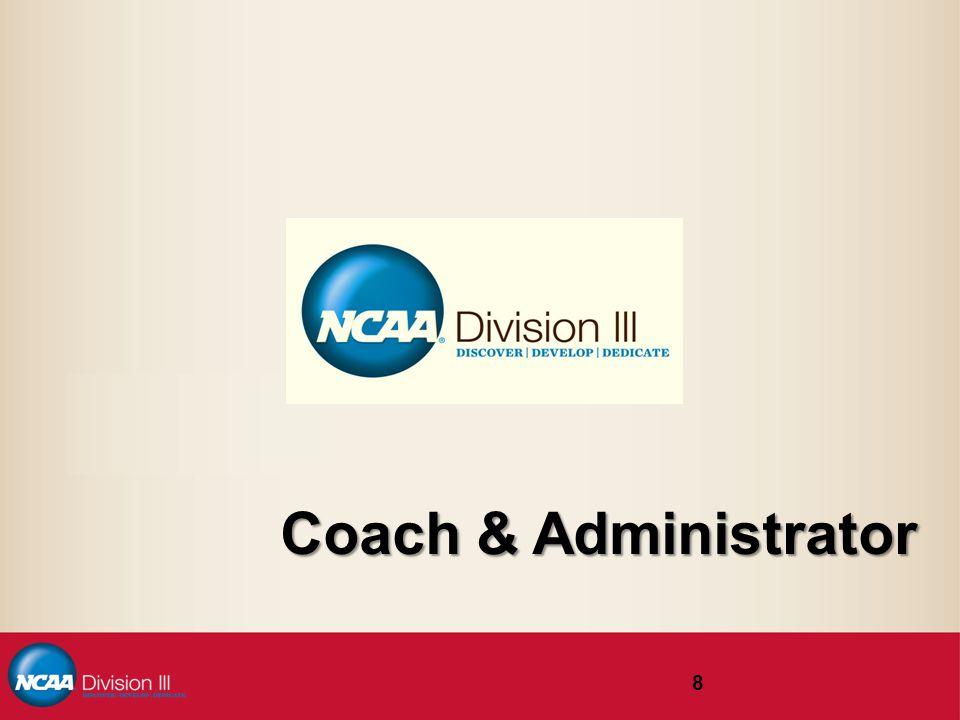 Coach & Administrator 8