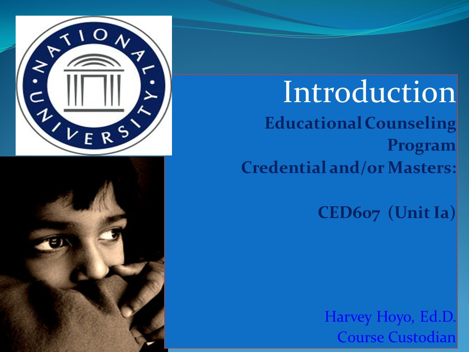 Course Sequence The Core Cources CED610 – Advanced Counseling Theories & Methods (CED600) CED603- Multicultural Counseling (CED610) CED611- Group Counseling (CED610) CED601 – Consultation in the Schools (CED610)