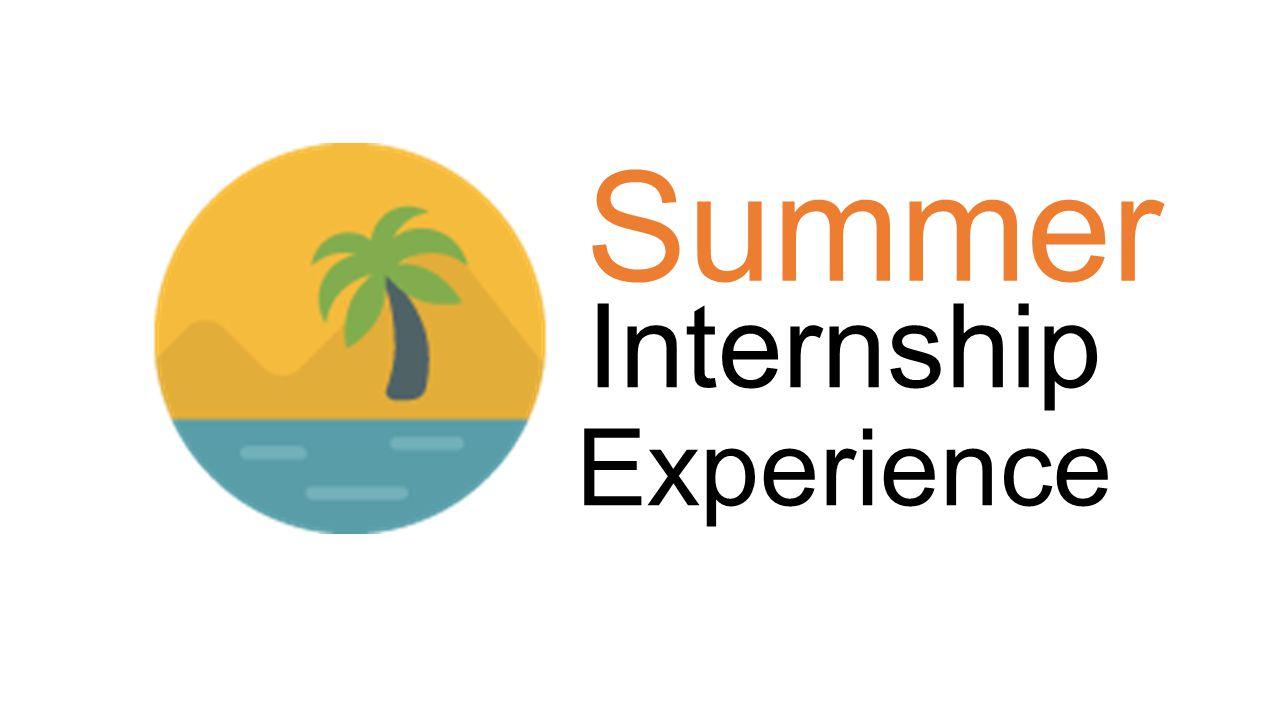 Internship Experience Summer