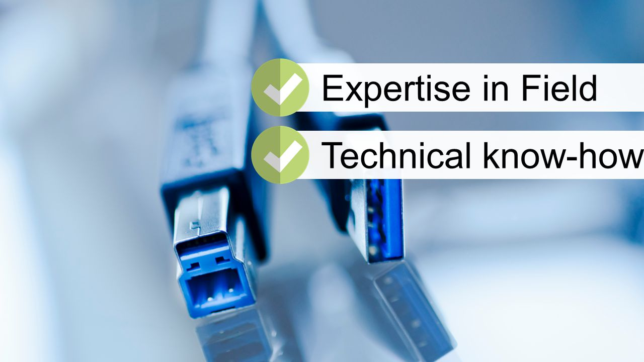 Expertise in FieldTechnical know-how
