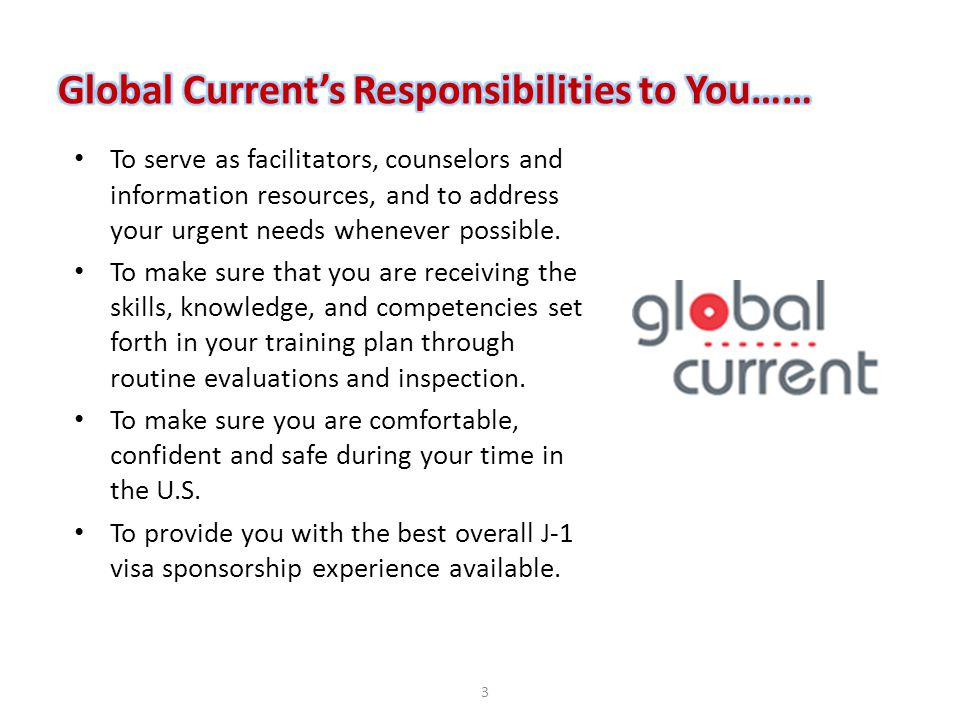 To serve as facilitators, counselors and information resources, and to address your urgent needs whenever possible. To make sure that you are receivin