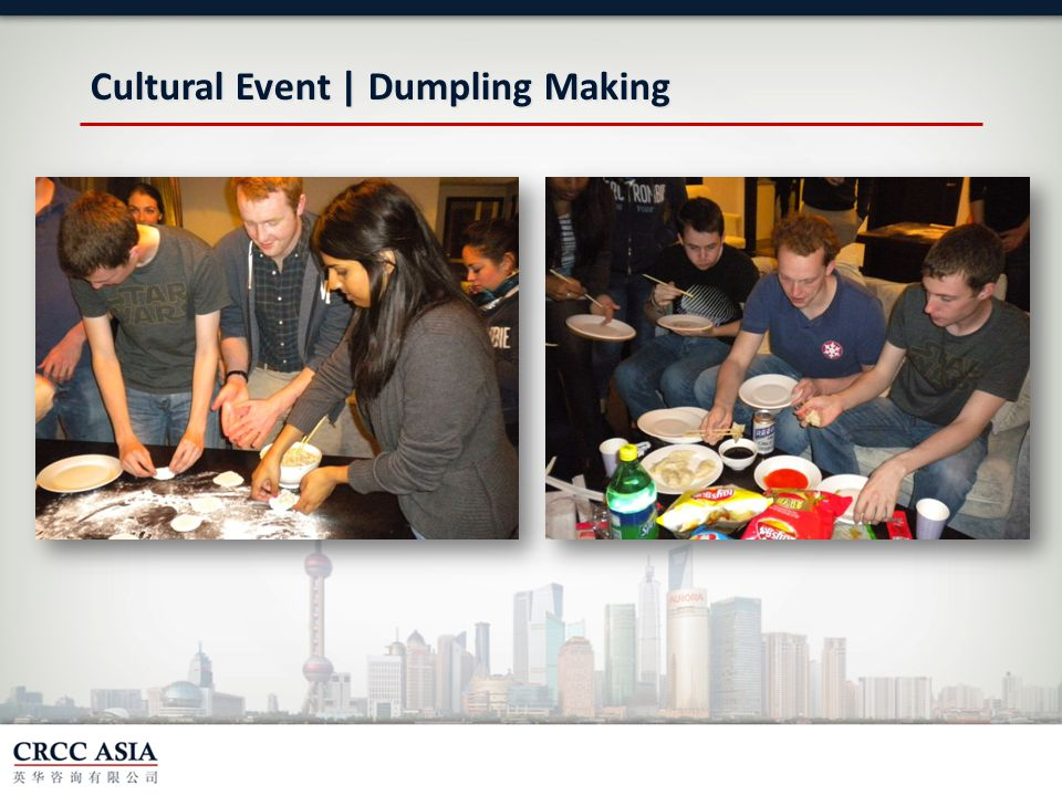 Cultural Event | Dumpling Making