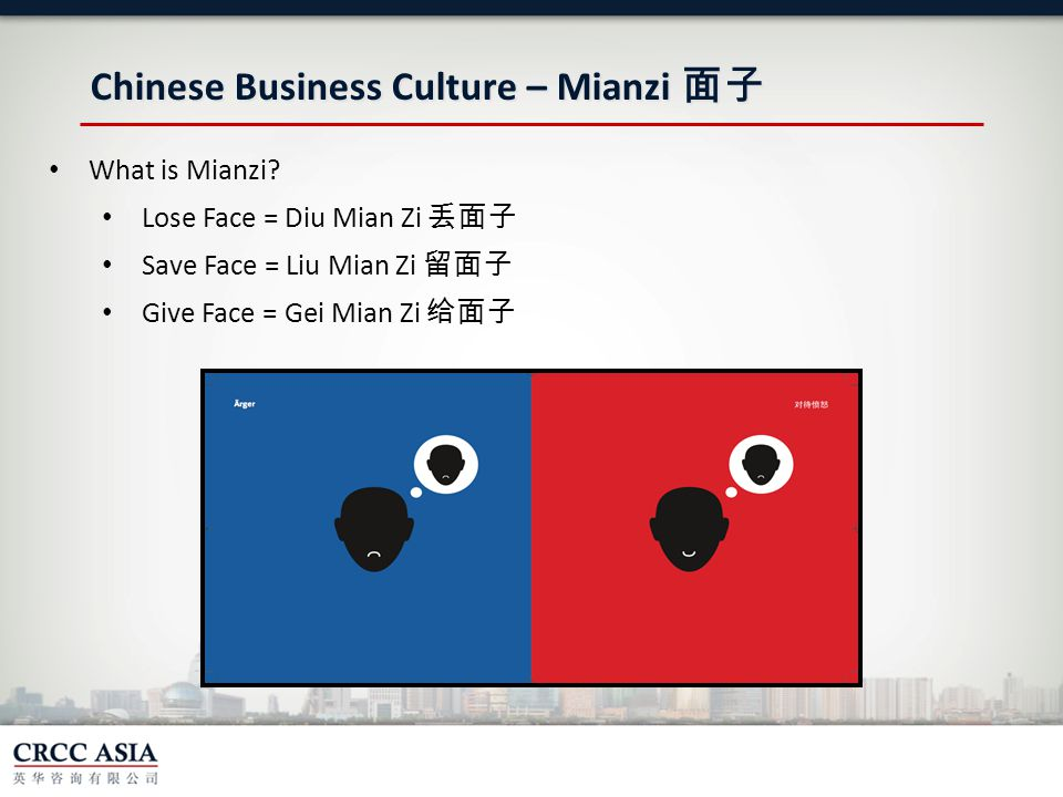 Chinese Business Culture – Mianzi 面子 What is Mianzi.