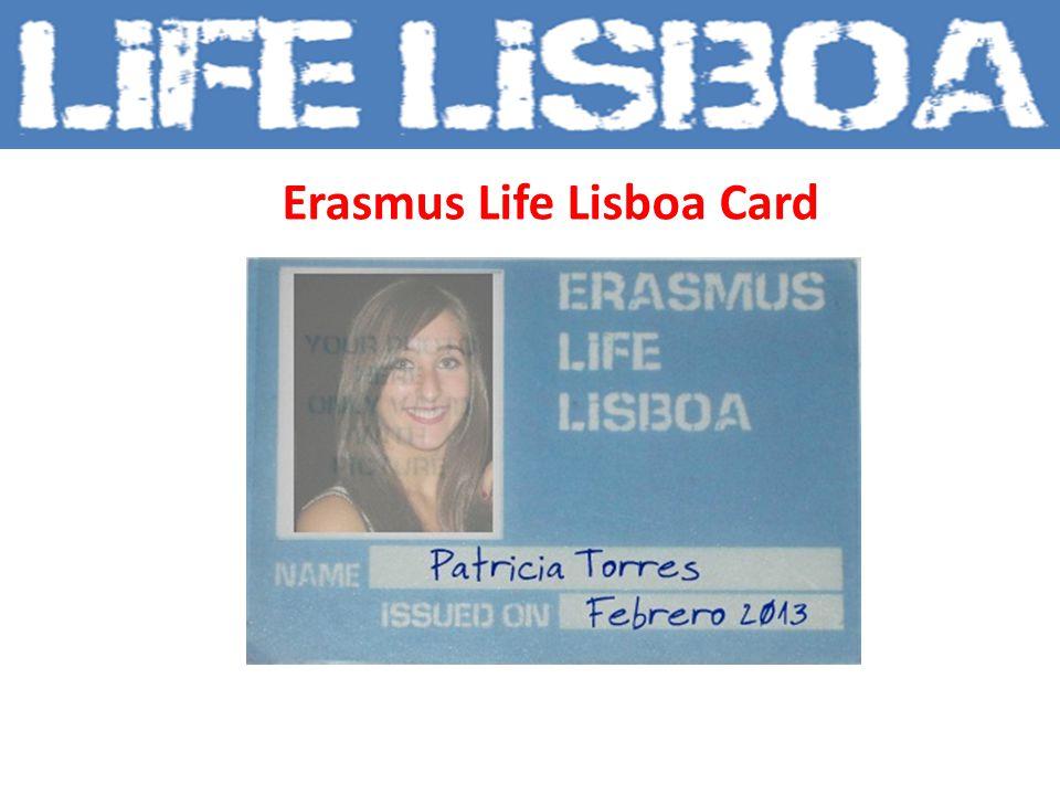 Erasmus Life Lisboa Card