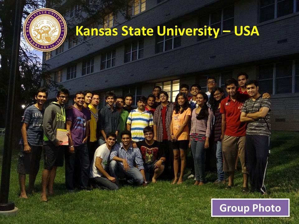 Kansas State University – USA Group Photo