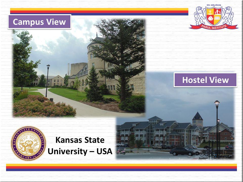 Kansas State University – USA Hostel View Campus View