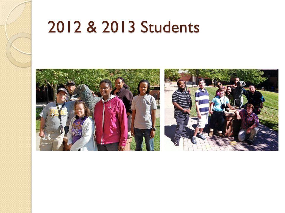 2012 & 2013 Students