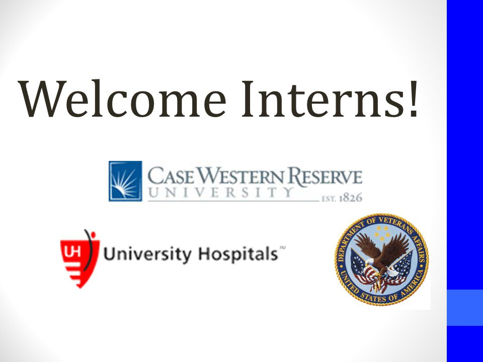 Welcome Interns!