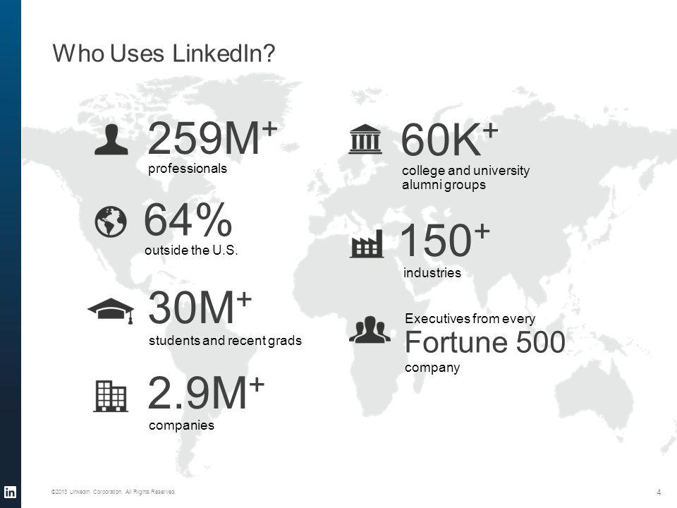 ©2013 LinkedIn Corporation. All Rights Reserved. LinkedIn Alumni Tool cont'd