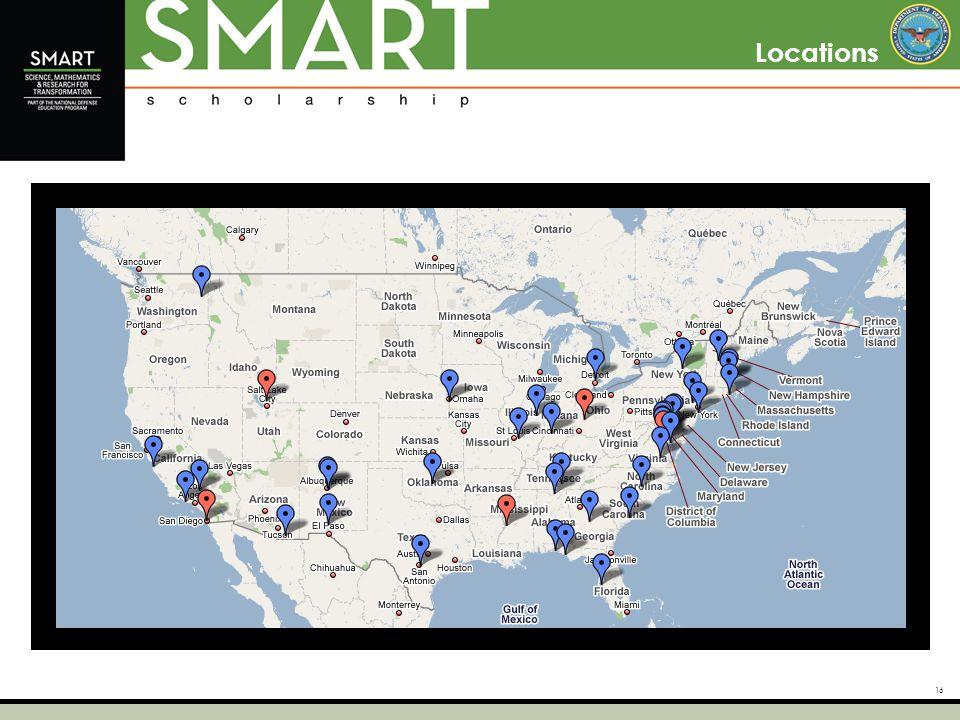 16 Locations