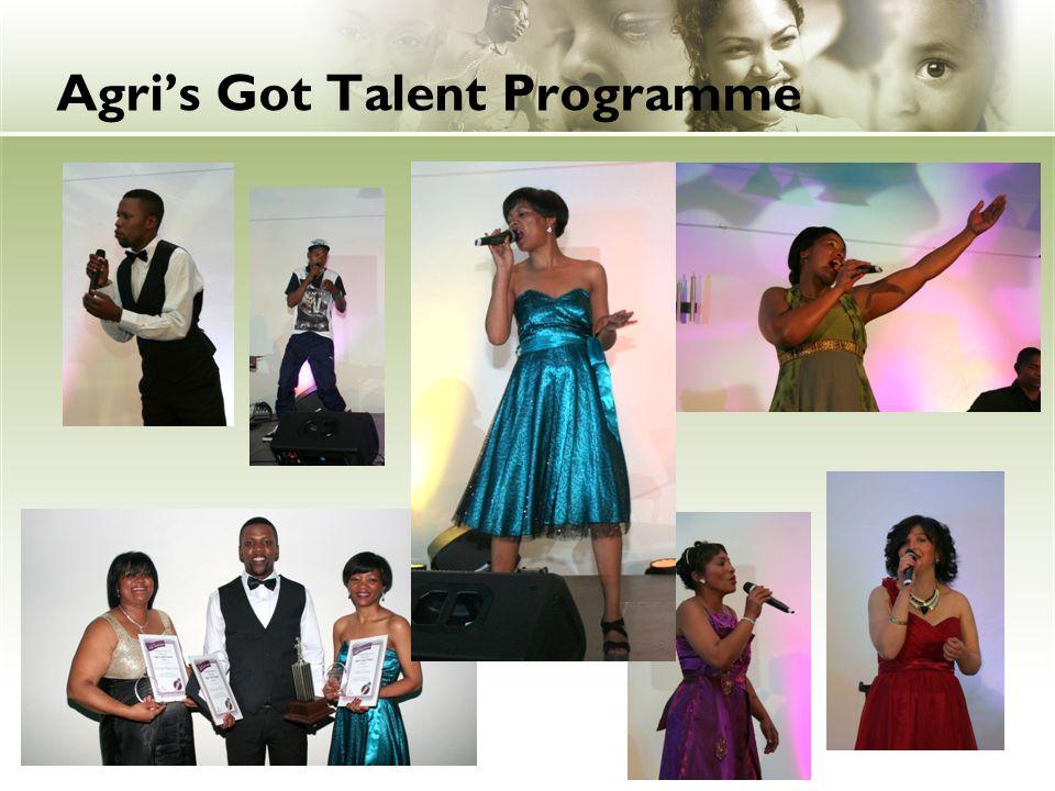 Agri's Got Talent Programme