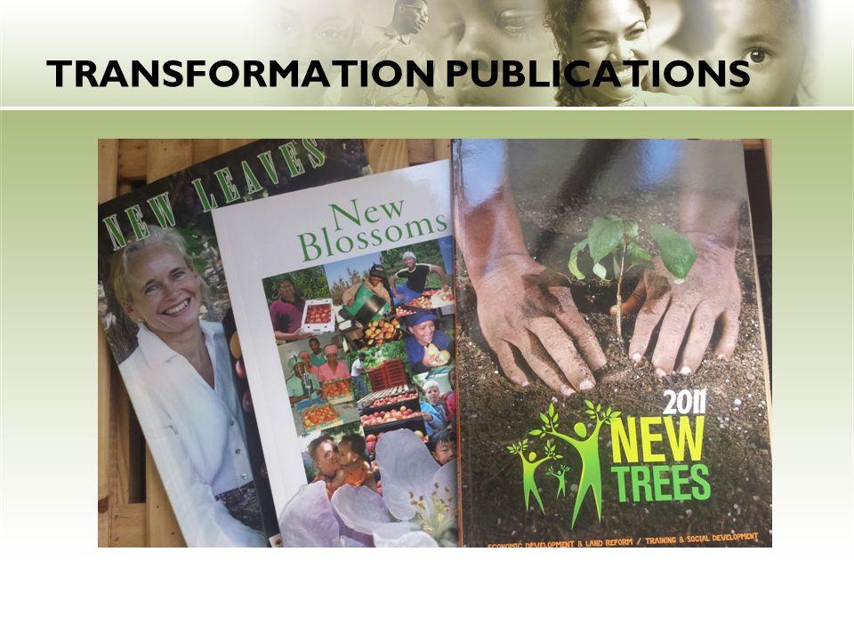 TRANSFORMATION PUBLICATIONS