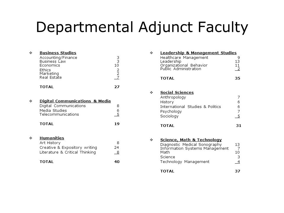 Organizational Realignment  Faculty Affairs  Curricular Affairs  Student Affairs  Divisional Administration