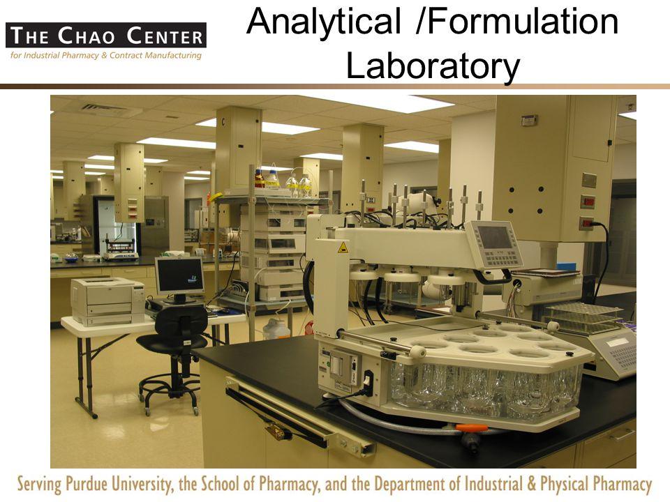 Non cGMP Pilot Lab