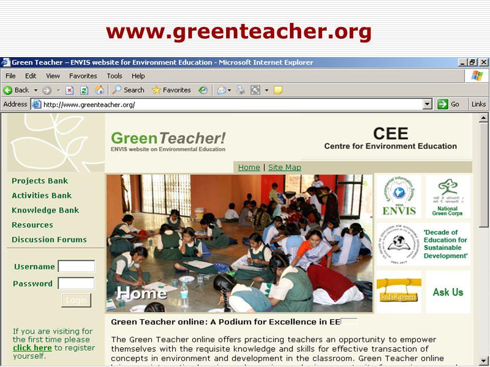 10 www.greenteacher.org