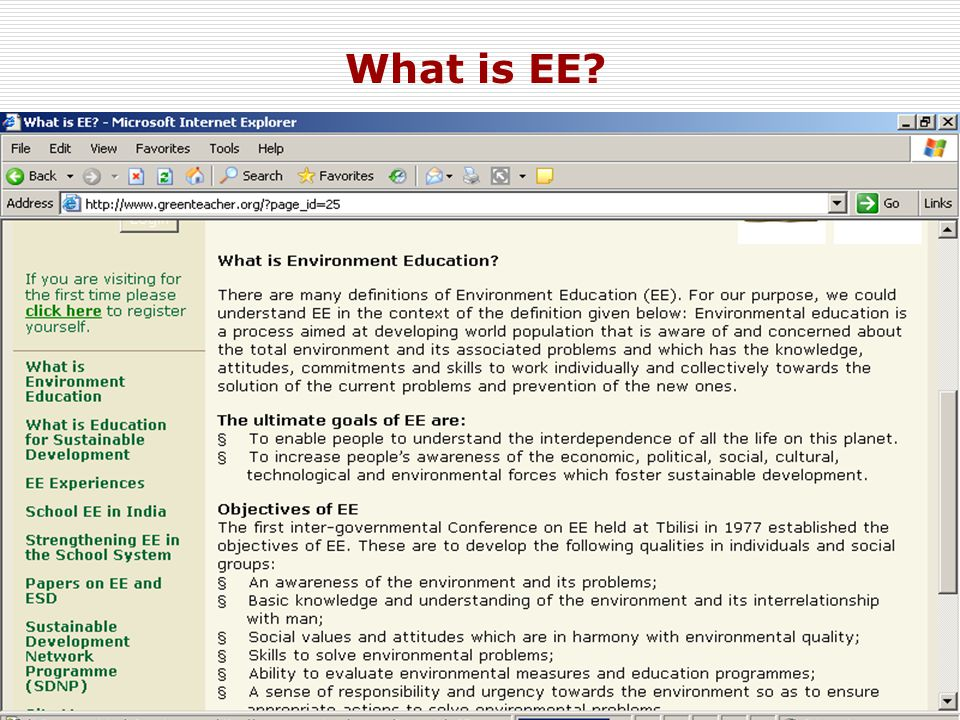 11 What is EE