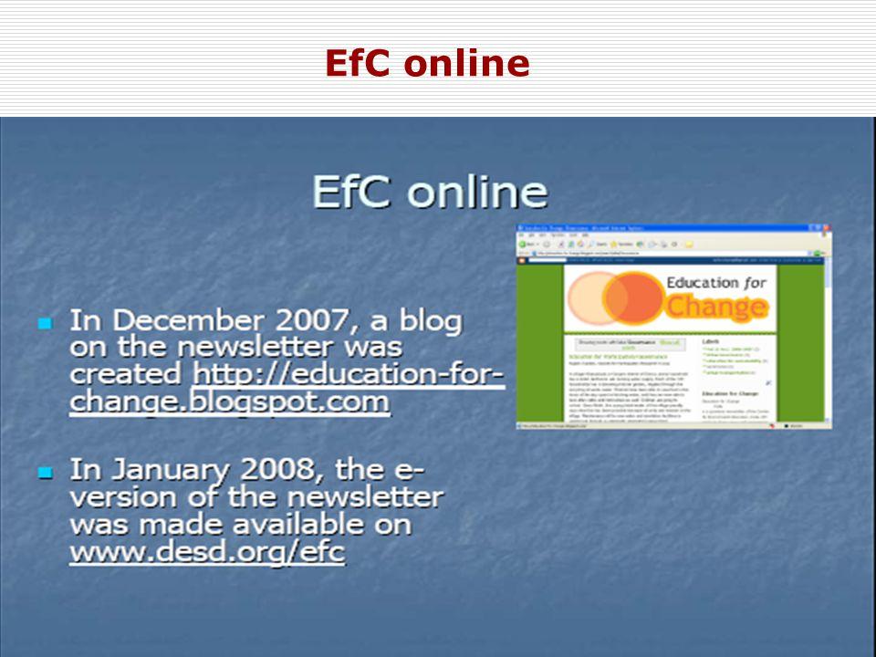 18 EfC online