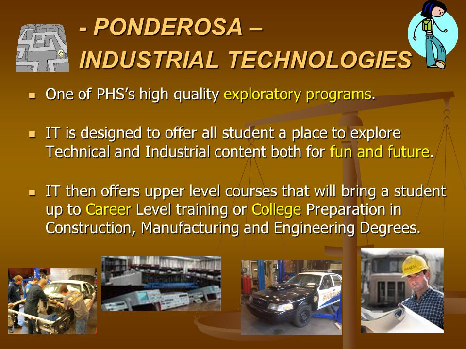 -- Industrial Tech Instructors -- Mr.