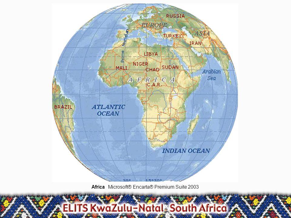 AfricaMicrosoft® Encarta® Premium Suite 2003