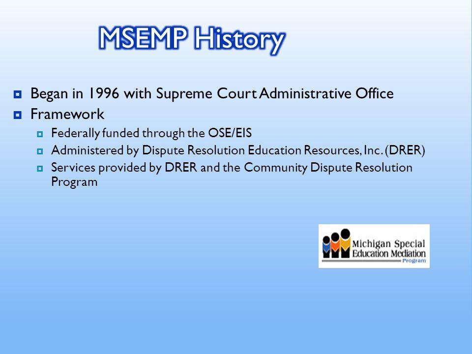 MDE/MSEMP Centers 5