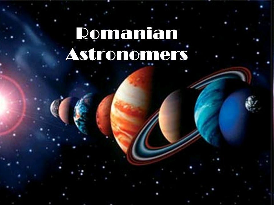Romanian Astronomers