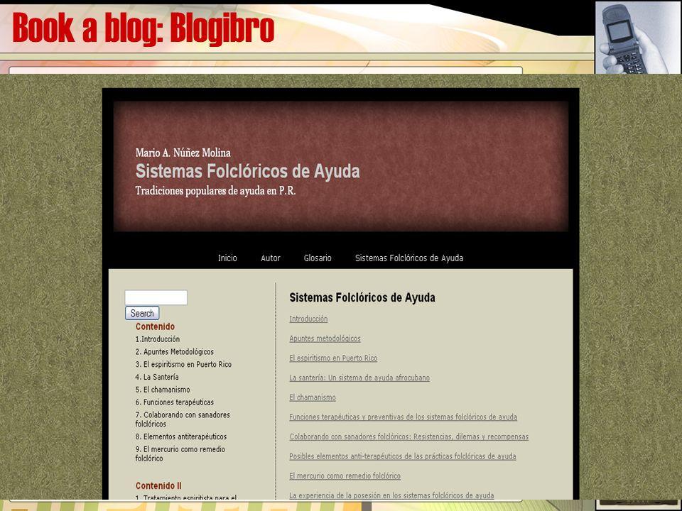 Book a blog: Blogibro