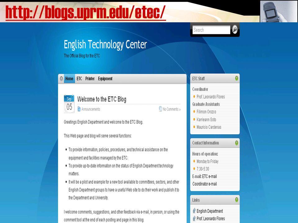 http://blogs.uprm.edu/etec/