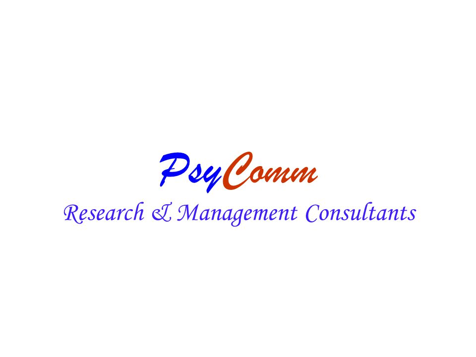 PsyComm Research & Management Consultants