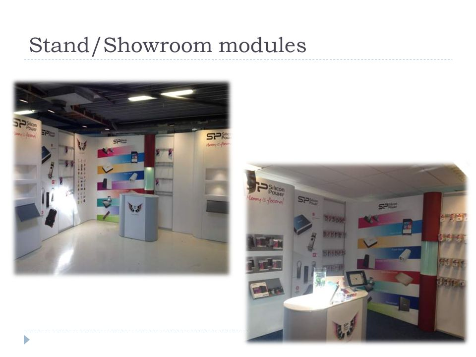 Stand/Showroom modules