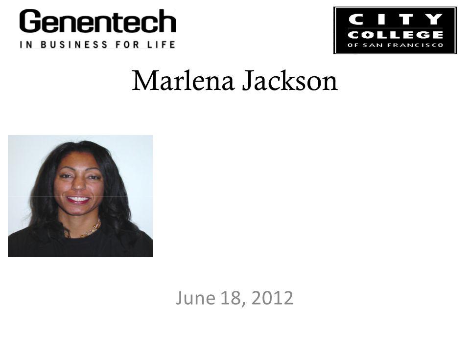 Marlena Jackson June 18, 2012