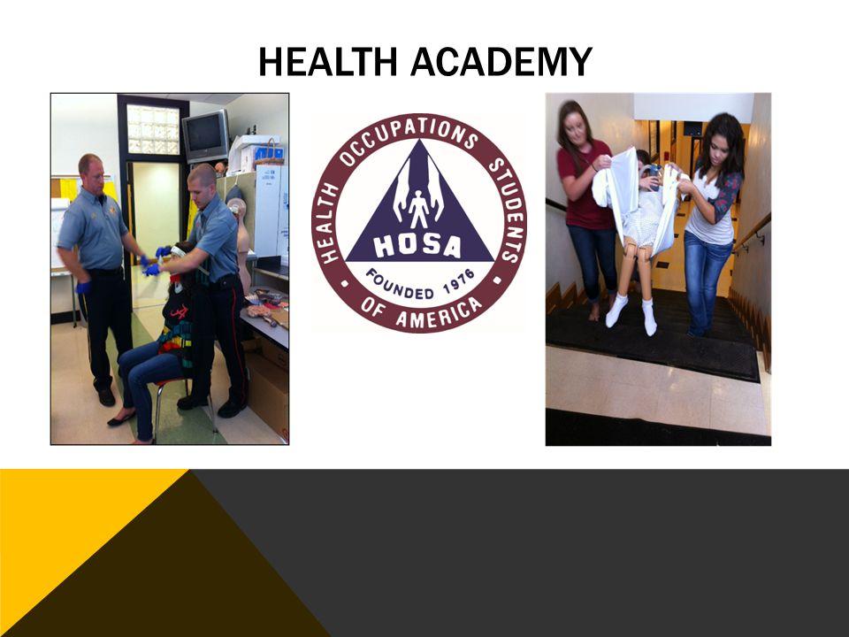 PROGRAM PATHWAY 1. Foundations of Health 2. Emergency Services 3. Therapeutics 4. Health Internship