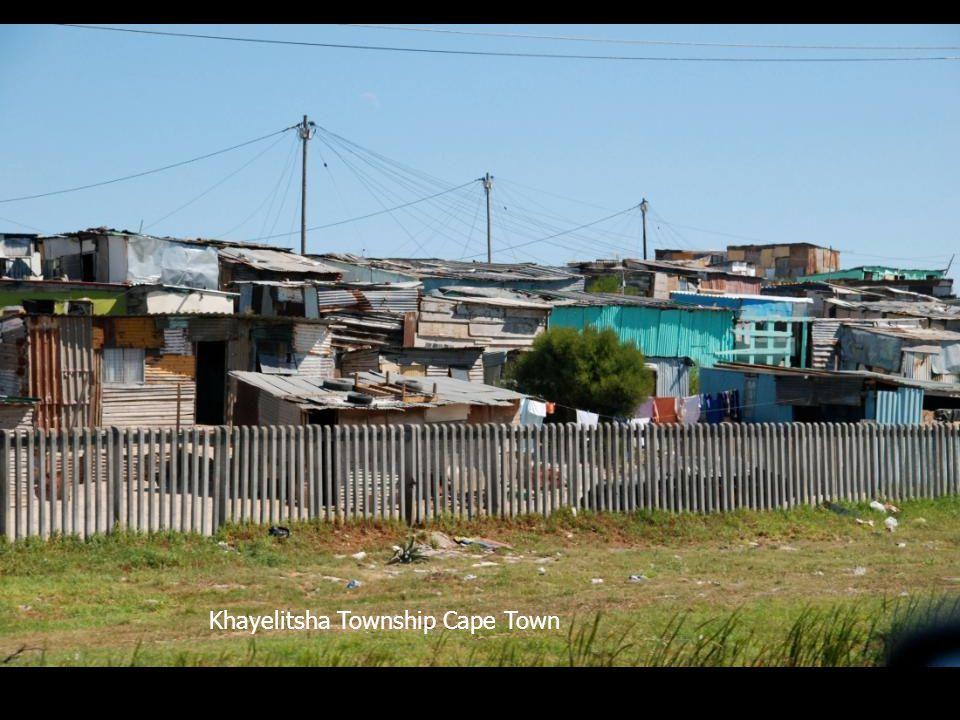 Khayelitsha Township Cape Town