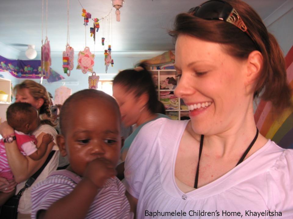 Mfuleni South Africa March 2008 Baphumelele Children's Home, Khayelitsha