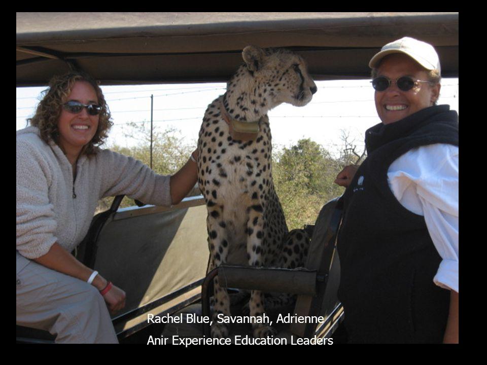 Safari Rachel Blue, Savannah, Adrienne Anir Experience Education Leaders