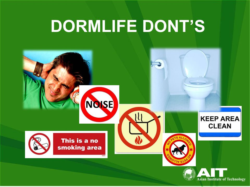 DORMLIFE DONT'S
