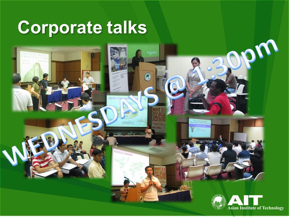 Corporate talks