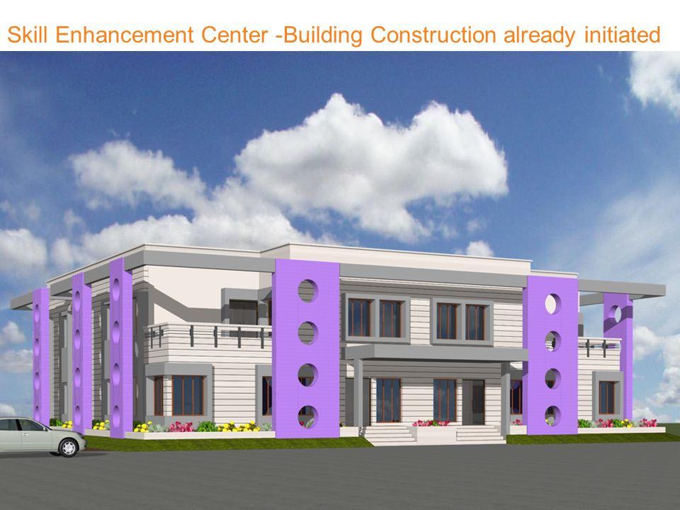 Skill Enhancement Center -Building Construction already initiated