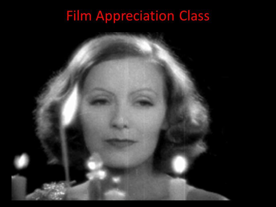 Film Appreciation Class