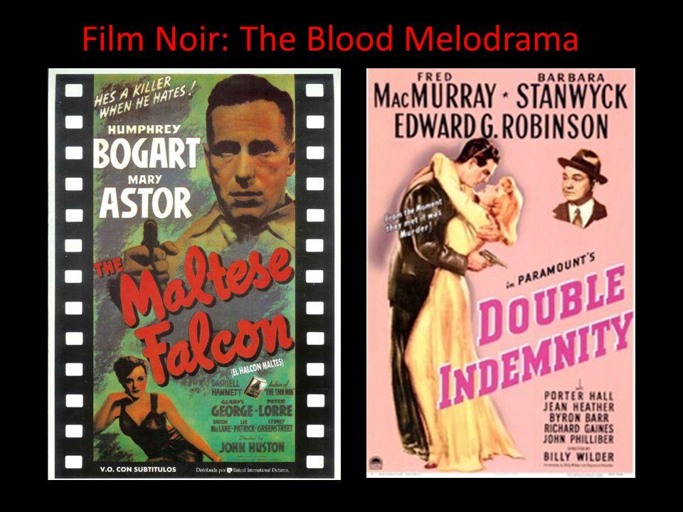 Film Noir: The Blood Melodrama