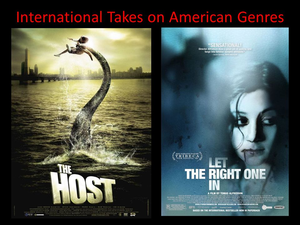 International Takes on American Genres