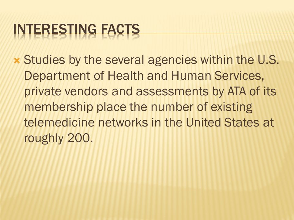  Studies by the several agencies within the U.S.