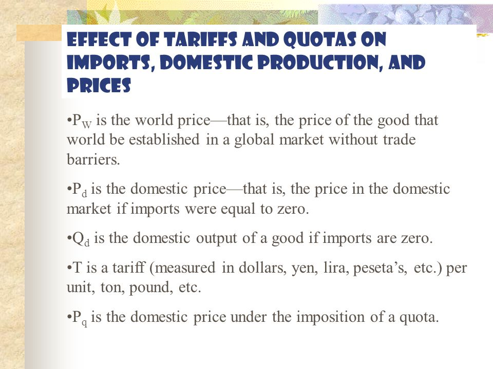 Protectionism, part 2 Government procurement: Most nations require their governments to buy from domestic producers.