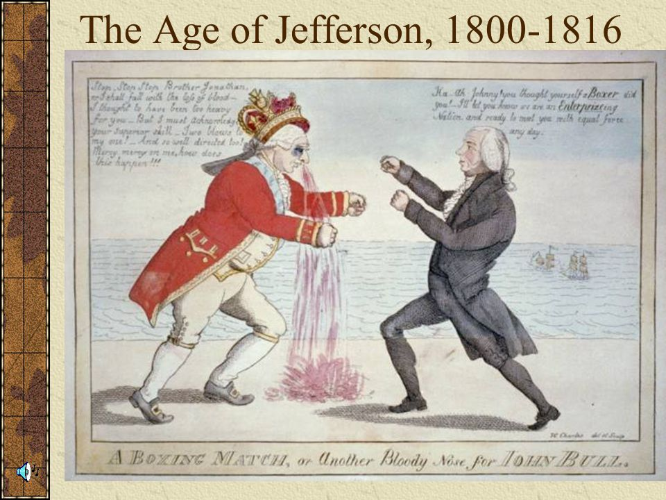 The Age of Jefferson,