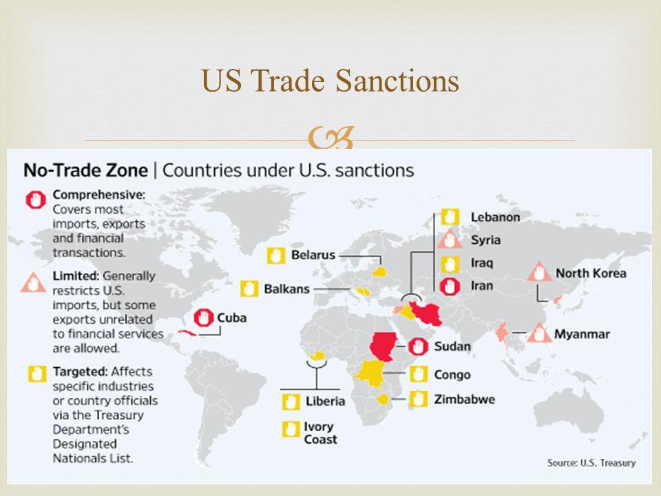   Problem: Financial transactions between the U.S.