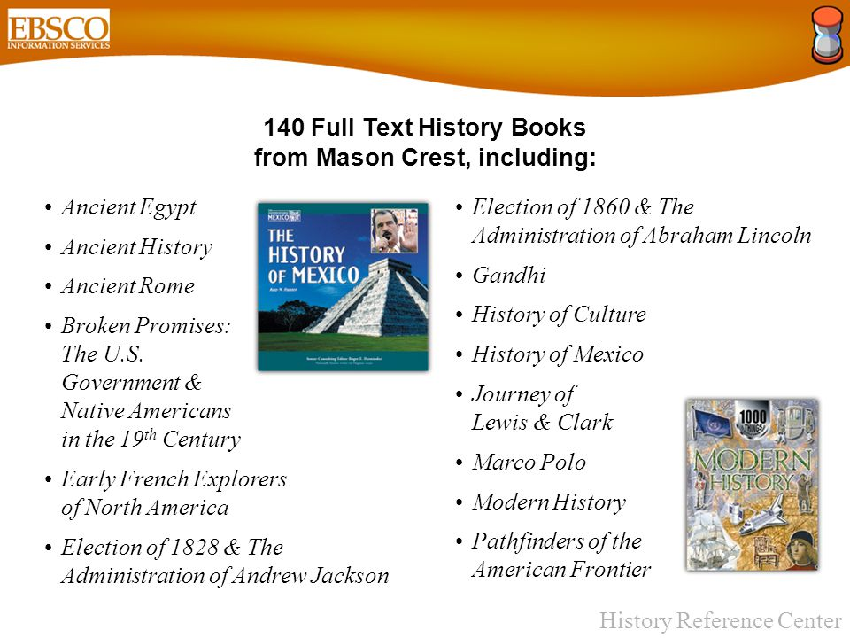 History Reference Center Historical Documents & Other Resources Essential Documents in American History (includes the U.S.