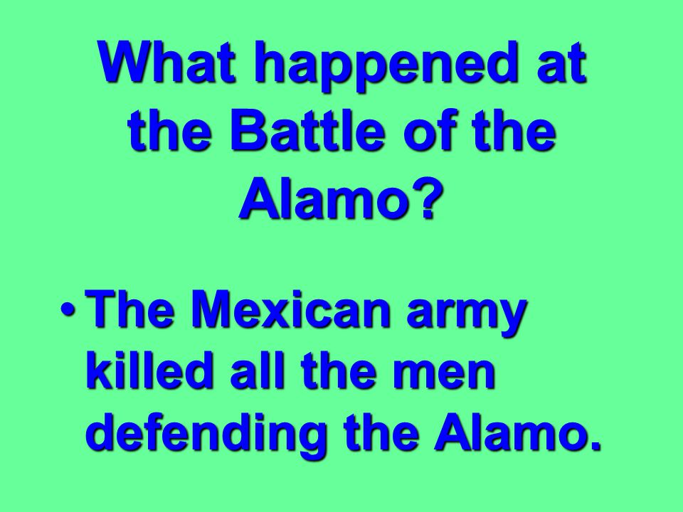 What resulted from American immigration into Texas? An armed revolt against Mexican ruleAn armed revolt against Mexican rule