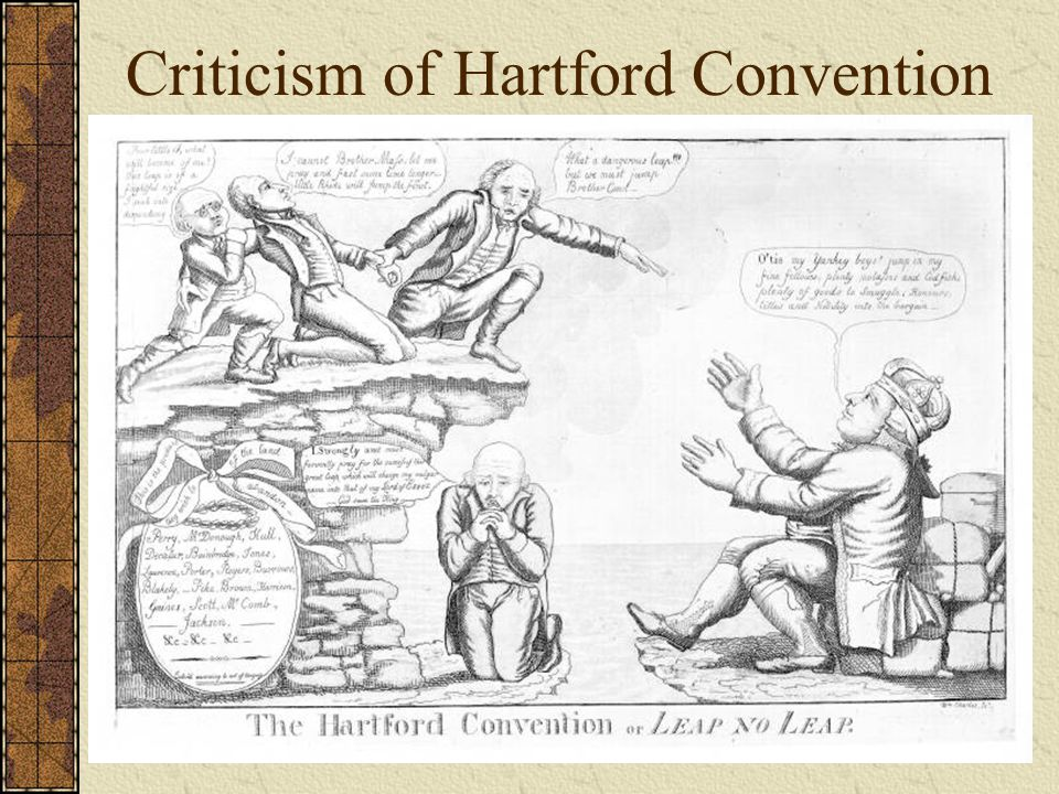 Criticism of Hartford Convention
