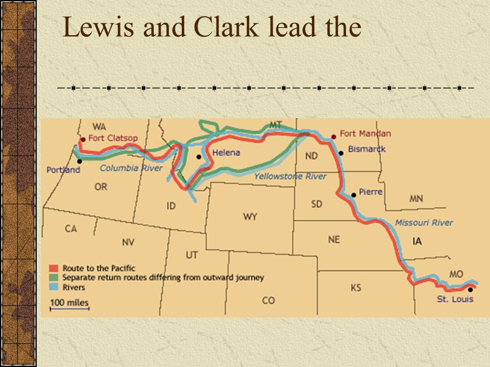 Lewis and Clark lead the